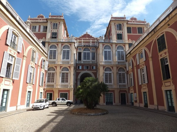 Royal Palace in Genoa