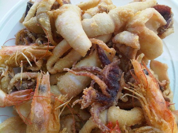 Fried seafood in Abruzzo, ©Italy Chronicles Photos/Flickr