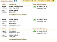 Air Lingus flight from Boston to Rome from $911