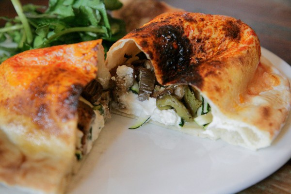 Vegetable calzone, ©amlamster/Flickr